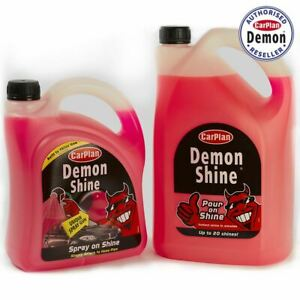 Carplan Demon Shine Twin Pack Shine Spray Gun 2 Litre And 5L Demon Shine Top Up