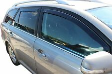 DTO29363 Wind deflectors fits TOYOTA AVENSIS  Estate 2003-2009 4pc TINTED HEKO