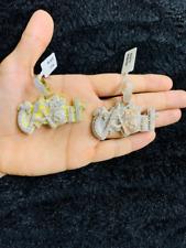 14k Gold Finish Cash Hip Hop Simulated Diamond Pendant Charm w/ Rope Chain