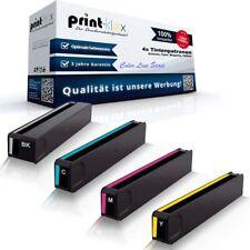 4x Cartuchos de tinta para HP officejet-pro-x-551-dw x470 Series 970+971 color