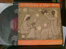 ORIG LP ALBUM & BOOKLET~ANTHOLOGY OF NEGRO POETRY~ARNA BONTEMPS & OTHERS !