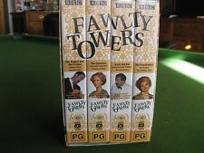 Fawlty Towers The Complete 2 Series 12 Episodes on 4 Tapes as PAL VHS Video