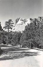 South Dakota SD RPPC Postcard MOUNT RUSHMORE c30-40s MEMORIAL VIEW 5