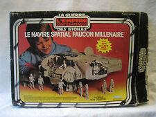 vintage Kenner Canada MILLENNIUM FALCON toy STAR WARS Canadian w/ original BOX !
