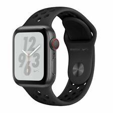 APPLE WATCH Series 4 NIKE+ MTXG2FD/A 40mm Anthr/Black Nike Sport (GPS+CEL) -OVP-