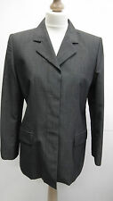 Black and Grey Long Marks and Spencers Jacket size 12