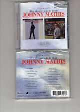 JOHNNY MATHIS - WARM / SWING SOFTLY (CD 1998) SEALED **24 TRACKS**
