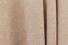 SALE!!! Ethnic Mango Leaf Soft Lurex Poly Jersey Dress Fabric Material (Nude)