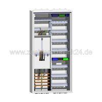 Hager Zählerschrank Komplettschrank 1Zähler Verteiler 7reihig  1100mm ZB322P17K