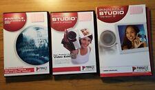 PINNACLE STUDIO 8 - 9 ugrade Video Editing with CD & DVD - PC Windows