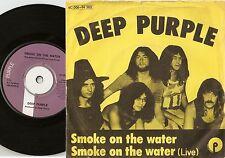 DEEP PURPLE SMOKE ON THE WATER STUDIO & LIVE DANISH 45+PS 1972  HEAVY ROCK PSYCH