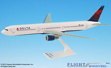 Flight Miniatures Delta Airlines Boeing 767-400 1/200 Scale Model with Stand