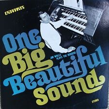 Jim Walls One Big Beautiful Sound private organ lounge LP Organarts
