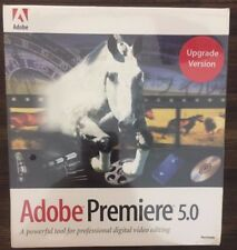 Adobe Premiere 5.0 Upgrade Version MAC NEW