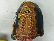 "Mizuno11.5"" Tan/Black Baseball Glove RHT Leather."