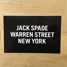 "New Jack Spade Logo Sticker / Decal / Bumper Sticker - 4"" x 6"""