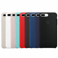 Original Genuine  Case Silicone Case Cover for Apple iphone X 6 6s 7 8 Plus Case