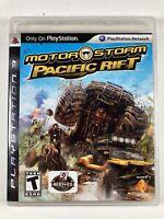 MotorStorm: Pacific Rift Sony PlayStation 3 PS3 Complete w/ Manual CIB