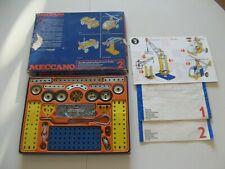 meccano ancien boite N° 2 reconditionnée avec notices