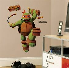 Teenage Mutant Ninja Turtles Giant Michelangelo Wall Decal Stickers Mikey