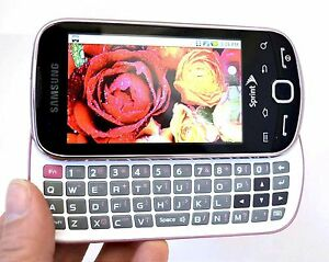 Samsung SPH-M910 INTERCEPT Sprint Android Phone PINK Wireless cell Smartphone 3G