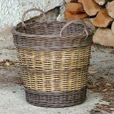 Mimbre Cesta De Árbol De Navidad Falda Fireside Casa Venta plantador de almacenamiento de información