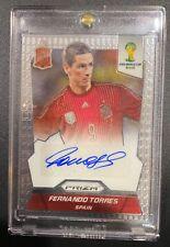 2014 Panini Prizm World Cup Fernando Torres Autogragh card