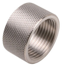 """1/2-28 STAINLES STEEL THREAD PROTECTOR, 0.330"""" LONG , FOR BERETTA 92/M9 barrels"""