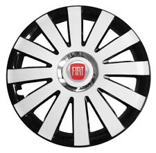 "4x13"" Wheel trims fit Fiat Panda with 13 inch wheels  WHITE"