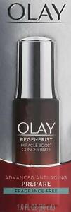 Olay Regenerist Miracle Boost Concentrate Advanced Anti-Aging Prepare 1 Fl. Oz.