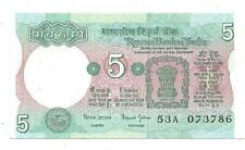 India Rs 5, UNC Note, C-33, by Sri Bimal Jalan, ending with Holy No. 786.