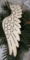 Engelsflügel  Flügel Creme gold 23,5cm Weihnachten Advent Deko Metall