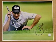 Jim Furyk signed 11x14 photo.