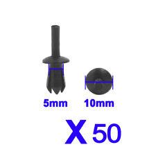 Clips Moulding Retainer Trim Plastic Fastener Panel Pin 5mm Car Rivet Push Body