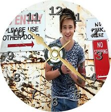 Reece Mastin Novelty Cd Clock Can be personalised