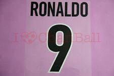 Ronaldo #9 1999-2000 Inter Milan Awaykit Nameset Printing
