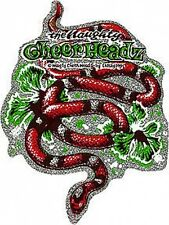 Cheerheads Snake Rockin Jelly Bean Sticker Decal R33