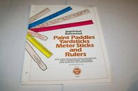 Vintage Catalog #447 - 1974 SPECIALITY ADVERTISING rulers