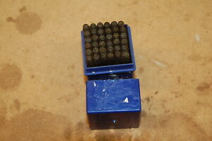 Vintage Number and Letter Punches/stamps