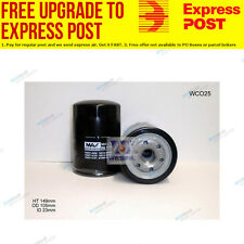 Wesfil Oil Filter WCO25 fits Toyota Dyna 400 4.6 D