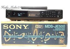 Sony MDS-JE500 MiniDisc Recorder / MD Player / Spieler +FB+OVP 12 Monate Gewährl