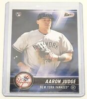 2017 Topps Bunt Aaron Judge Rookie Card #20