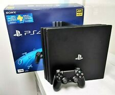 Consola SONY PlayStation 4 1TB PRO 4K Black Console PS4 - 1 Year Warranty