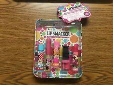7 pc Limited Edition Disney Minnie Mouse Lip Smacker Lip Balm Collector's Tin