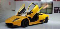 1:24 Escala Amarillo Lamborghini Murcielago LP 670-4 Sv 2009 Rastar Metal Coche