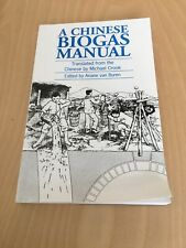A Chinese Biogas Manual Translated By Michael Crook Trade Paperback