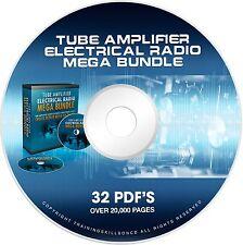 Repair Tube Amplifiers Stereo Electronics HAM Radio Build Fix Design Books DVD