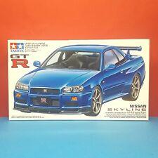 Tamiya 1/24 Nissan Skyline GTR R34 V-Spec [JDM] model kit #24210