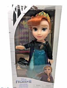 Disney Frozen 2 Queen Anna Doll 14 inch Ionic Outfit Shoes Tiara Frozen Princess