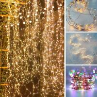 200 LED Twinkle Starry Lights Waterfall Tree Vine String Lights Decorative
